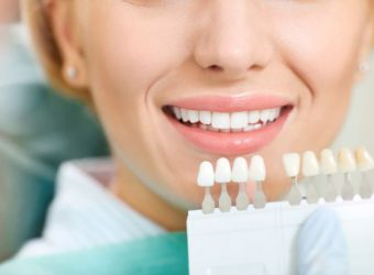 Teeth whitening dental clinic.